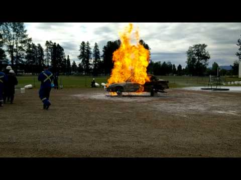 2015 Provincial Mine Rescue Competition Fire Task