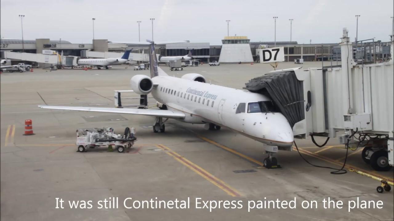 United Express Ua4766 Erj 145 Chicago Ord To Cleveland
