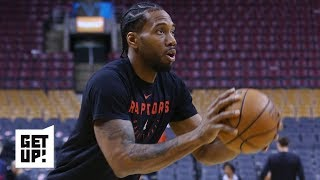NBA Film Breakdown: Kawhi Leonard uses screens to create open shots vs. the 76ers | Get Up!