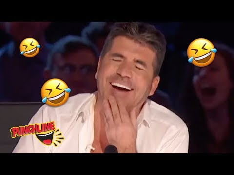 COMEDY MUSICIAN Sings To Make  SIMON COWELL LAUGH on America's Got Talent 2019