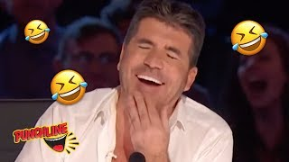 COMEDY MUSICIAN Sings To Make  SIMON COWELL LAUGH on America...