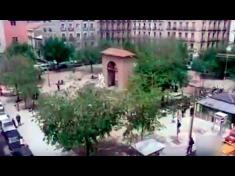 La Plaza del Dos de Mayo de Madrid - Imágenes de la plaza en 1979 - Los pasotas