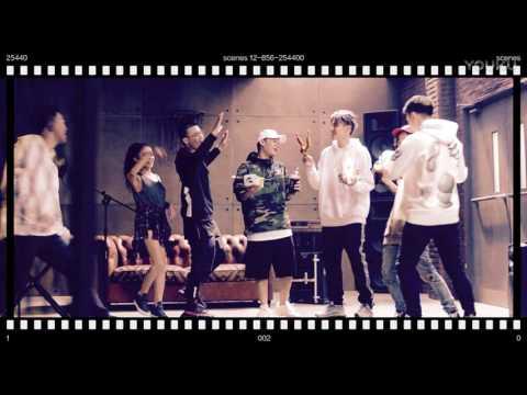 Kris Wu and The Rap of China 中国有嘻哈 contestants Mcdonald's song