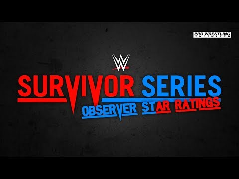 Survivor Series Wrestling Observer Star Ratings