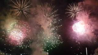 Dubai Fireworks @ Jumeirah Beach Residence
