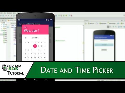 Date&TimePicker
