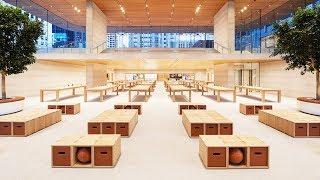 Смотрим крутой Apple Store в США!