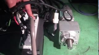 Panasonic MUMA022P1S/VRKF-15C-200  AC SERVO MOTOR / reduction gear 動作確認