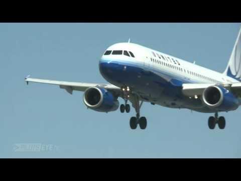 Pilotseye tv   Lufthansa Airbus A380   Departure from San Francisco English Subtitles