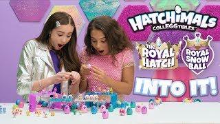 Mia & Peyton Go On a HATCHING Spree   Hatching with Hatchimals Hatch Club!