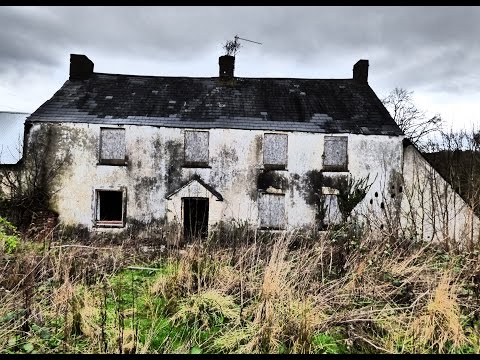 CREEPY ABANDONED FARMHOUSE-PENARTH