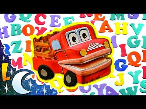 El Alfabeto | ABECEDARIO con Barney El Camión | Lunacreciente