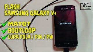 Cara Mengatasi Samsung Galaxy V+ Bootloop atau Matot