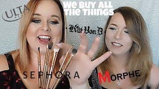 Crazy Random Haul of Sephora/Morphe/Kat Von D/ Ulta!! With Reviews!!