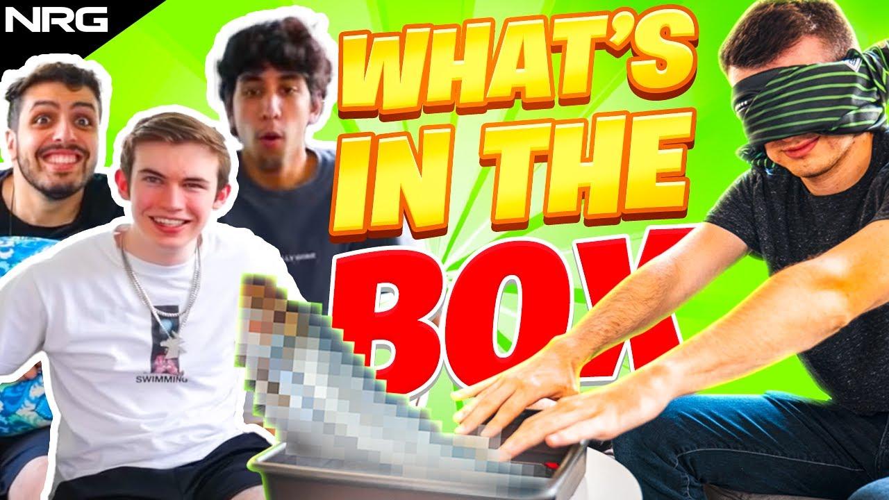 What's in the Box Challenge (ft. Musty, JSTN, GarrettG, & Sizz)