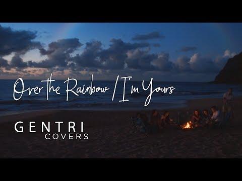 """Somewhere Over the Rainbow/I'm Yours"" (Iz/Jason Mraz Cover) | GENTRI Covers"
