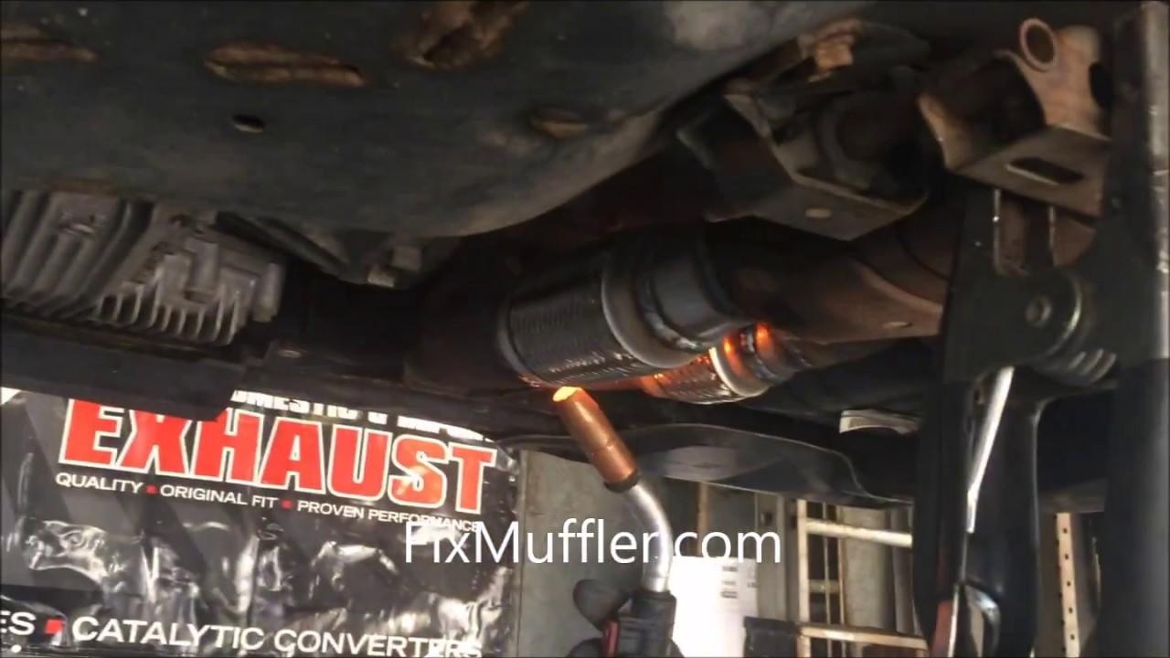 Nissan Murano Flex Pipe Youtube