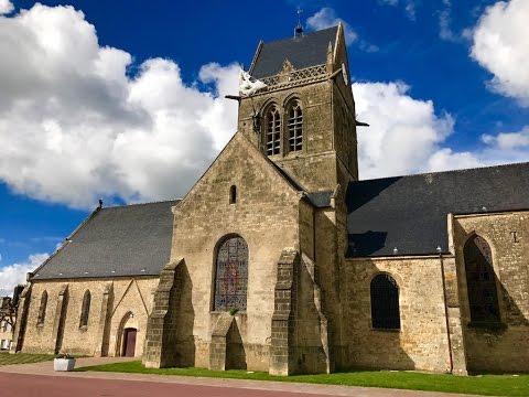 Beautiful Sainte M 232 Re 201 Glise Church Normandy France By