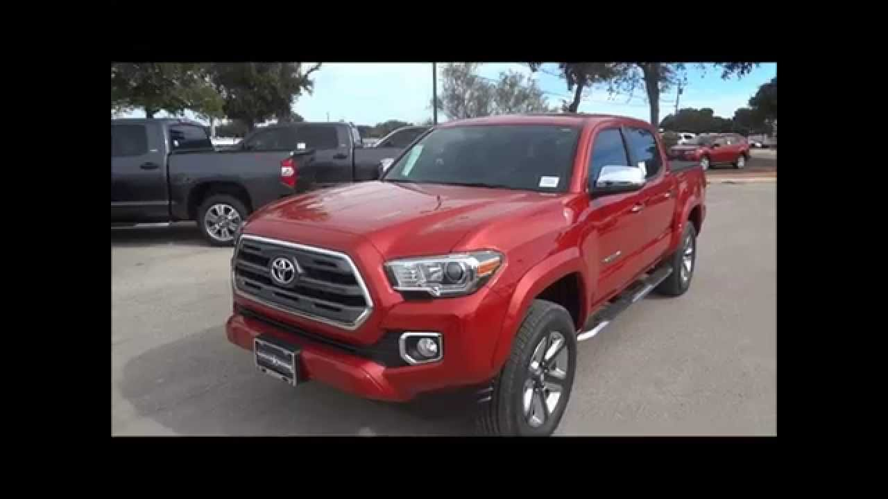 2016 Toyota Tacoma Limited Review