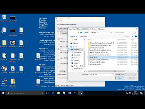 Create bootable USB image for Windows 7/8/8.1/10 Vista XP with WinSetupFromUSB