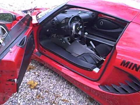 Red Lotus Elise Interior