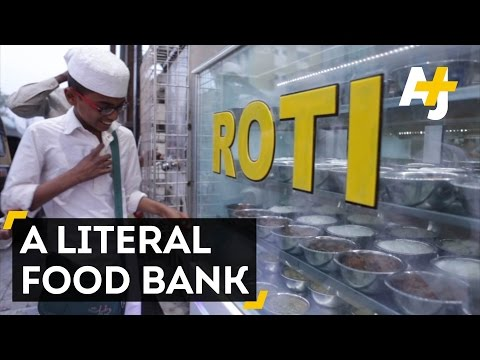 A Roti Bank In India To Feed The Poor