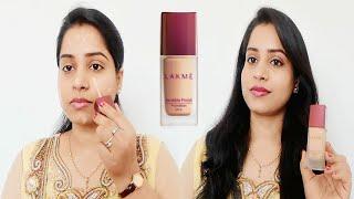 Lakme Invisible Finish Foundation | Beauty hacks | Lakme invisible finish foundation review