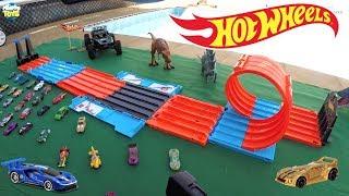 Hot Wheels Pista Mega Caixa de Corridas Mattel - Carrinhos de Brinquedos