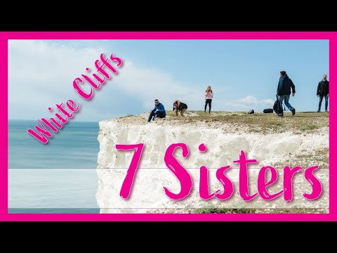 THE CHALK CLIFFS OF SUSSEX - SEVEN SISTERS COASTAL HIKE