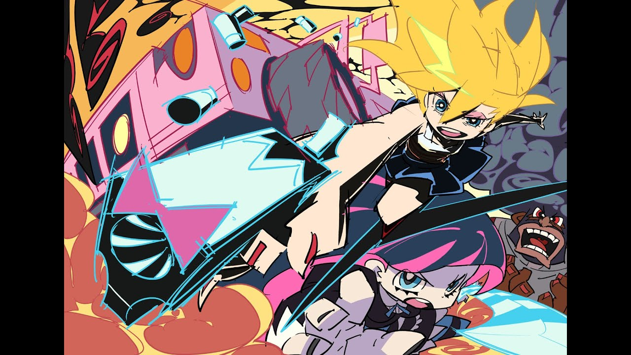 Anime panty and stocking with garterbelt