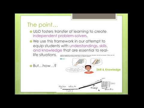 Module 2 ED621A - The Big Idea, Enduring Understandings, Essential Questions