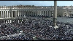 LIVE: Pope Francis leads Easter Sunday mass on St. Peter's Square