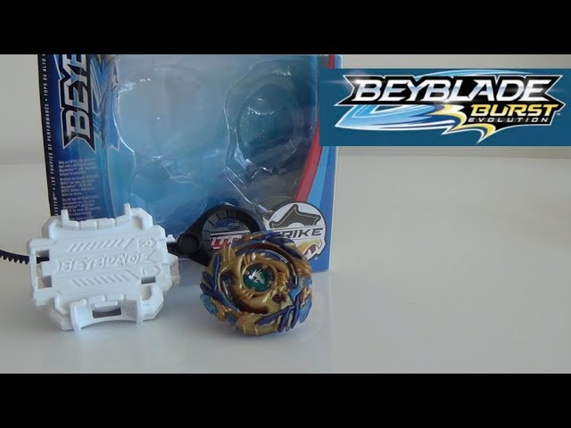 Beyblade Burst Evolution Drain Fafnir F3 Unboxing and Review! + QR Code Reveal and Testings!