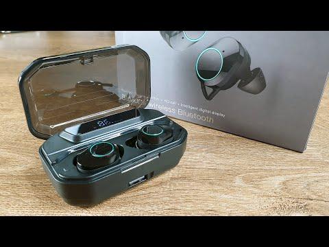 Беспроводные наушники G02 TWS | Тот самый «6D сурраунд бас»...