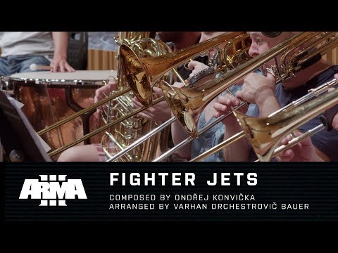 "Arma 3 - ""Fighter Jets"" (Live Orchestra Recording)"