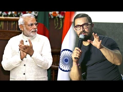 Aamir Khan's BEST Reply On Narendra Modi's Ban Of 500 & 1000 Rupee