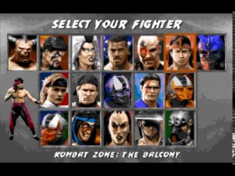 Mortal Kombat 3, sega genesis/mega drive, introduction cheats