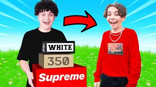 Surprising A Bullied Kid with ANY Sneaker he Wants!
