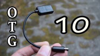 Top 10 USES of OTG Cable that will BLOW YOUR MIND! thumbnail