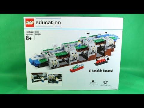 LEGO Panama Canal Speed Build 2000451