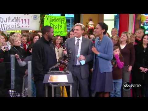 Heisman winner Mark Ingram on Good Morning America