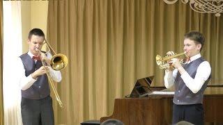 Городской конкурс исполнителей на духовых инструментах   2017