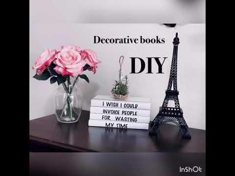 Decorative Coffee Table Books Diy Fashion Vinyl Book Covers