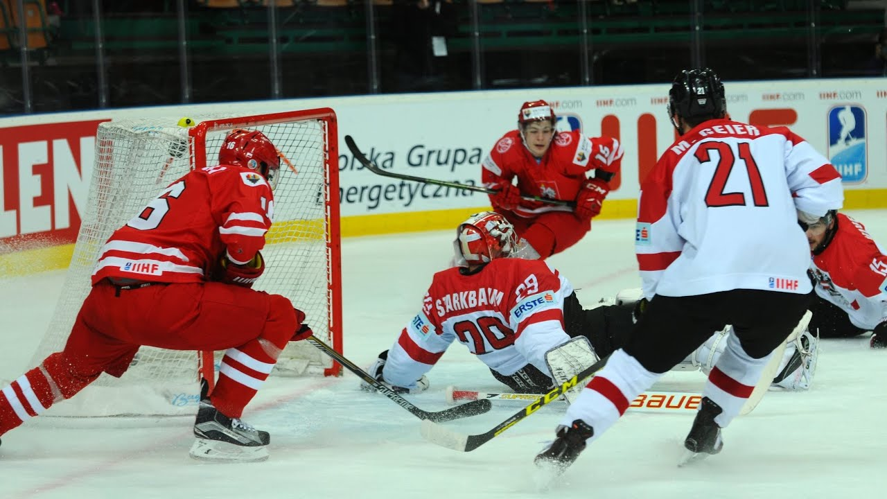Poland vs. Austria - 2016 IIHF Ice Hockey World Championship Division I Group A