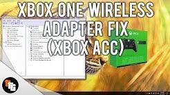 Xbox One Wireless Adapter (Xbox ACC) Fix!