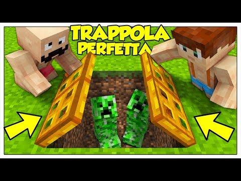 COME CREARE LA MIGLIORE TRAPPOLA PER CREEPER! - Minecraft ITA