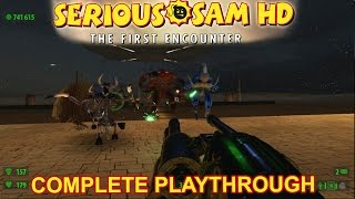 Serious Sam: The First Encounter HD - Complete playthrough - 1080p60fps - No commentary