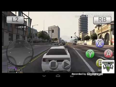 Gameplay GTA 5 MOBILE On Android (real 100%)!!!!