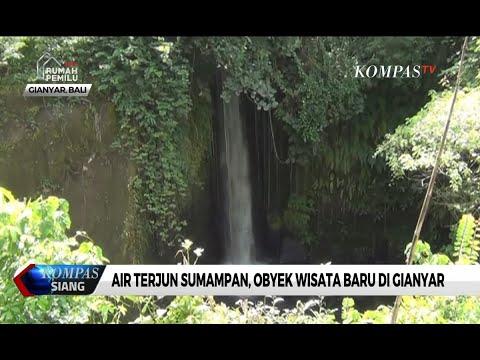 Air Terjun Sumampan Objek Wisata Baru Di Gianyar