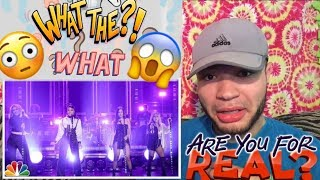 """FIFTH HARMONY ( Dinah, Just Listen !🌹) """"Down Performace On Jimmy Fallon"""" REACTIONS !!"""